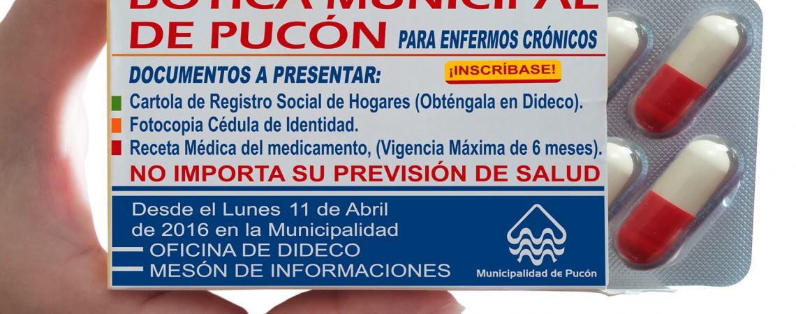 Comenzó la inscripción para la Farmacia Municipal en Pucón