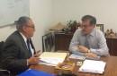 Alcalde de Pucón concurre al MOP para buscar soluciones concretas a los caminos de la comuna