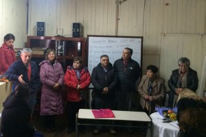 Alcalde Carlos Barra felicita a la nueva directiva de la Unión Comunal de Adultos Mayores de Pucón