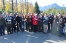 Vecinos y alcalde de Pucón inauguran asfalto del camino a la ex Balsa de Quelhue
