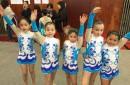 Escuela Municipal de Gimnasia Rítmica de Pucón se destaca en campeonato en Temuco