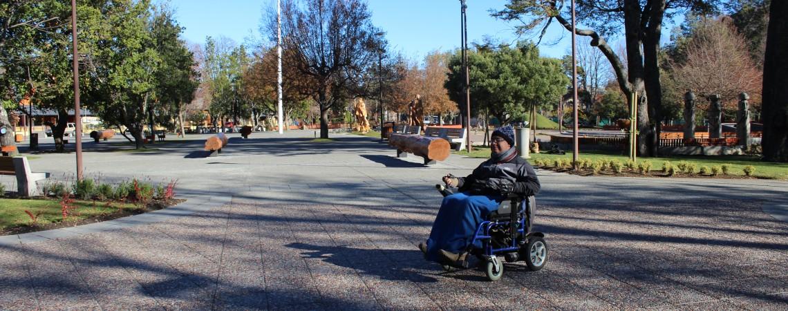 """Nueva Plaza de Pucón obtiene """"Sello Inclusivo"""" por el Servicio Nacional de la Discapacidad"""