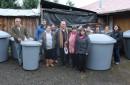 Municipio de Pucón realiza entrega de estanques de agua a vecinos de sectores rurales