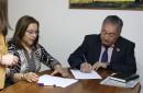 Municipio y JUNJI Araucanía firman acuerdo para construir un nuevo jardín infantil y sala cuna en Pucón