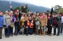 Adultos mayores de Pucón viven una experiencia inigualable por la precordillera de la Región de Los Ríos