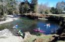 Puconinos participan en campeonato de kayak y canoa y se alistan para el Panamericano en Río de Janeiro