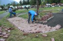 En Pucón comenzaron los trabajos para implementar la primera plaza con juegos inclusivo