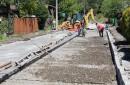 Sobre un 50% de avance presentan las obras de pavimentación en calles de Pucón