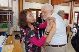Pucón dio inicio a la Campaña de Vacunación Contra la Influenza 2019