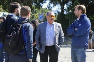Alcalde Barra solicita al Subsecretario de Medio Ambiente los derechos de agua para Pucón