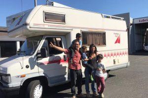 Familia puconina viajará en una Motorhome por Latinoamérica para educar a sus hijos
