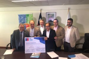 Ministro de Vivienda, Intendente y alcaldes de Villarrica y Pucón firman acuerdo de colaboración