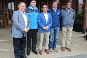 Autoridades se reúnen por plan de descontaminación del lago Villarrica