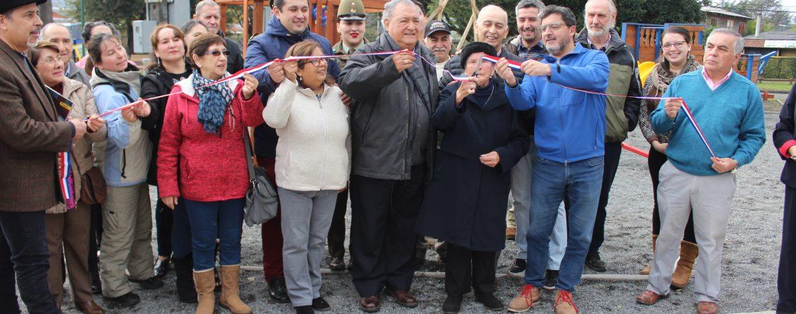 Inauguración nueva plaza Las Araucarias