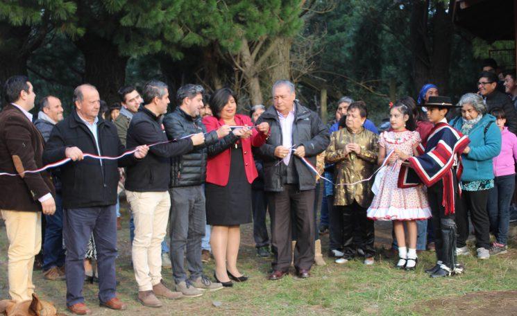 Inauguración de Luminarias en Quelhue