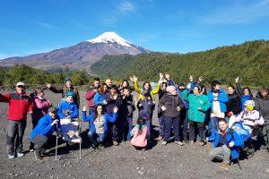 Turismo inclusivo municipal llevó a niños al Parque Nacional Villarrica
