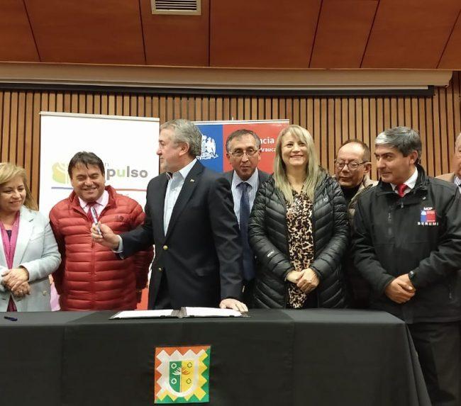 Proyecto de pavimentación básica entre Carhuello y Quelhue será una realidad el 2021