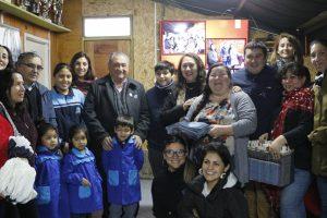 Taller Laboral Obispo Valdez valoró apoyo municipal en Pucón