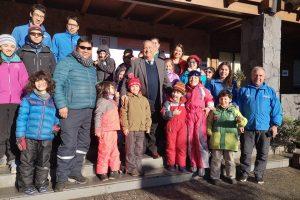 Comenzó exitoso programa municipal de Esquí Escolar en Pucón