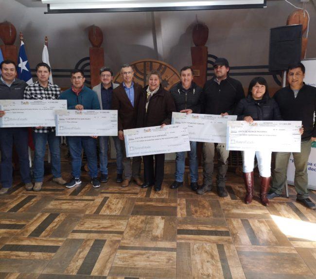 Municipalidad hizo entrega de Presupuestos Participativos en Pucón