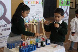 Llamativa feria científica presentaron niños de jardines infantiles de Pucón