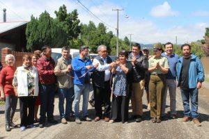 Municipalidad y vecinos inauguran nuevas cámaras de seguridad en Villa Puesta del Sol