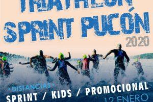 Organizadores de Triathlon Sprint Pucón 2020 informan cortes de calles