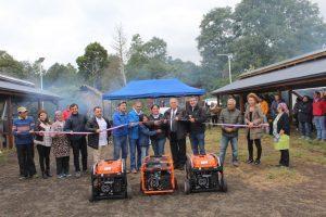 Municipalidad de Pucón y Fosis inauguran nuevos proyectos en Feria Kui-Kui de Quelhue