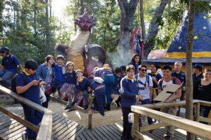 Niños de Pucón conocieron el Bosque Encantado