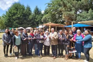 Inauguran Feria Artesanal y Gastronómica de Llafenco